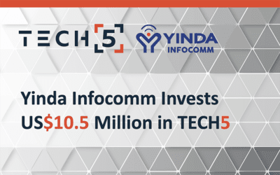 Yinda Infocomm Invests US$10.5 Million in TECH5 to Strengthen Global Strategic Partnership in the Fields of Identity Management and Digital ID